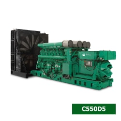 Máy Phát Điện Cummins 3 Pha 500kVA C550D5A
