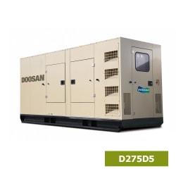 Máy Phát Điện Doosan 3 Pha 250kVA D275D5