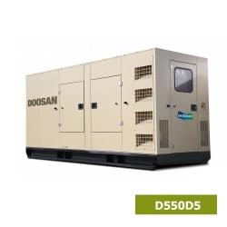 Máy Phát Điện Doosan 3 Pha 500kVA D550D5