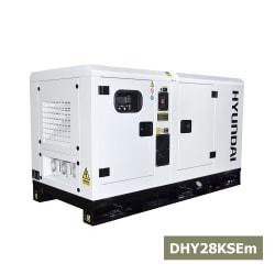 Máy Phát Điện Hyundai 1 Pha 25kva DHY28KSEm