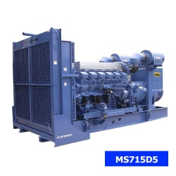 Máy Phát Điện Mitsubishi 3 Pha 650kVA MS715D5